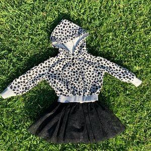 🖤GUESS Dress W Hoodie NWOT